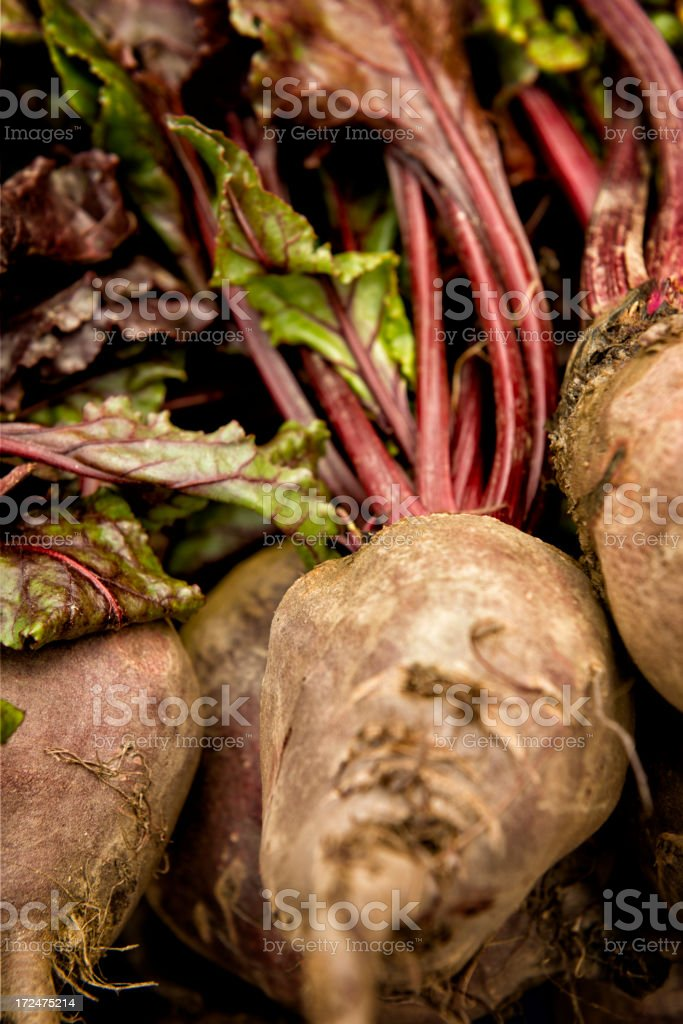 Stack of beets royalty-free stock photo