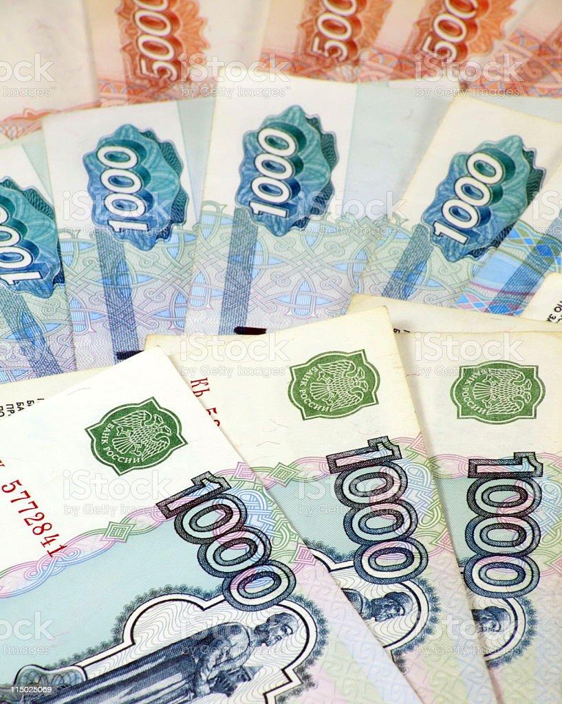 stack of bond 5000, 1000 stock photo
