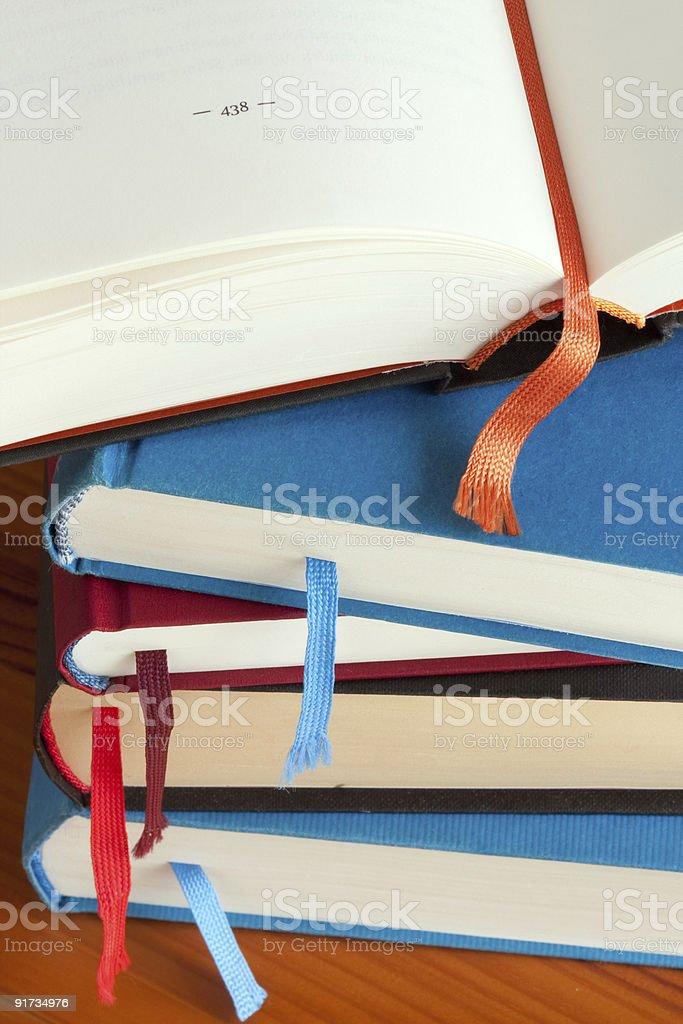 Pilha de Livros foto de stock royalty-free