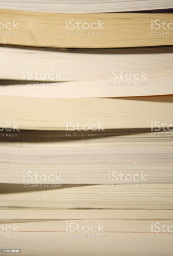 stack of books series stock photo