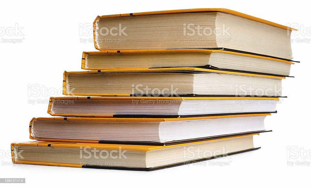 Stack of boors royalty-free stock photo