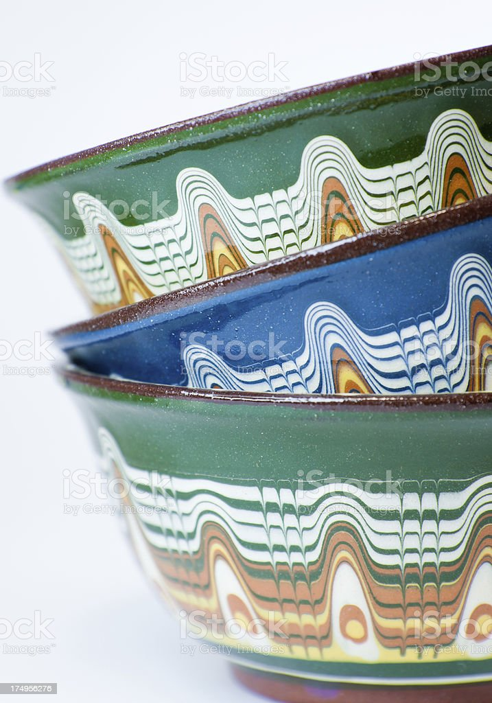 Stack of Bowls royalty-free stock photo