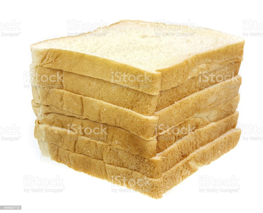 Stack of Bread royalty-free stock photo