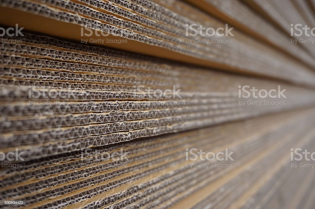 stack of carton stock photo