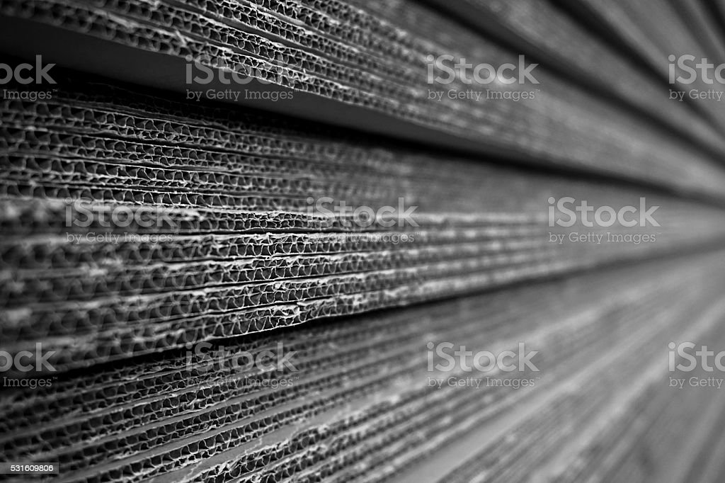 stack of carton stock photo