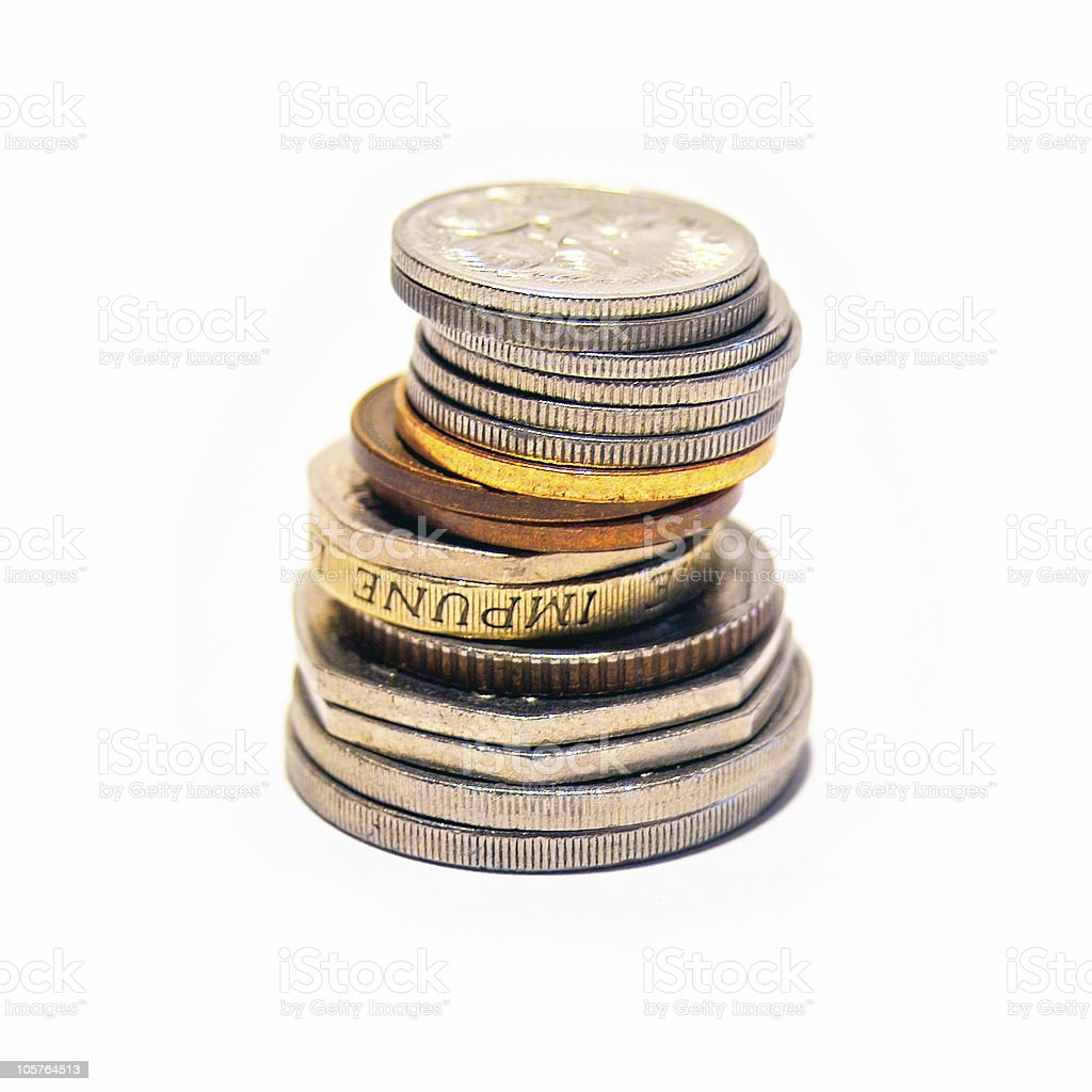 Stack of coins II royalty-free stock photo
