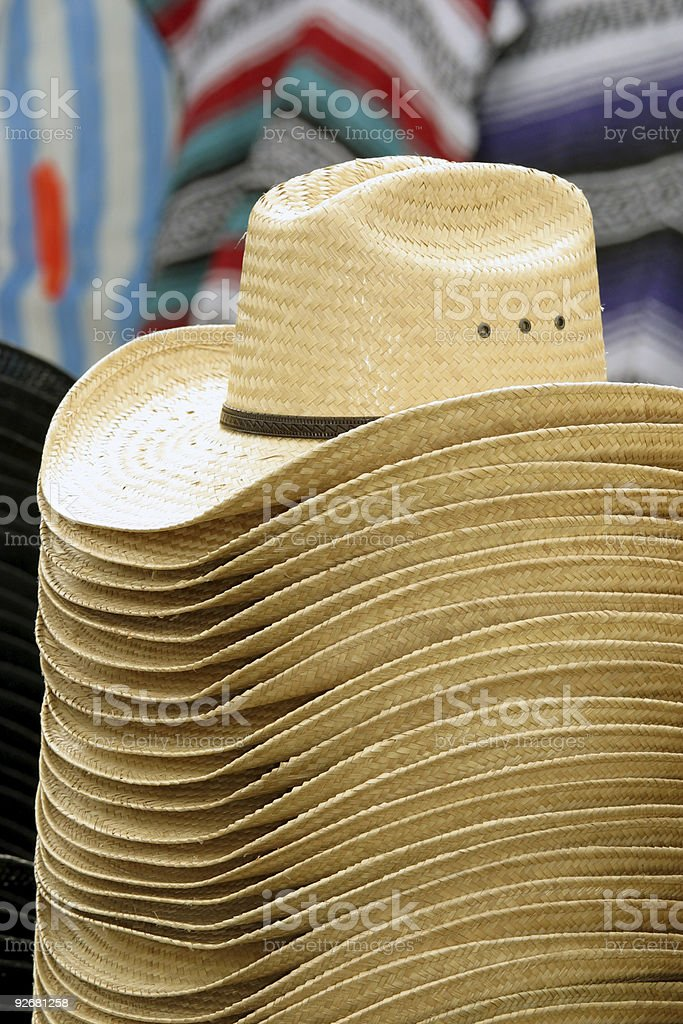 stack of hats royalty-free stock photo