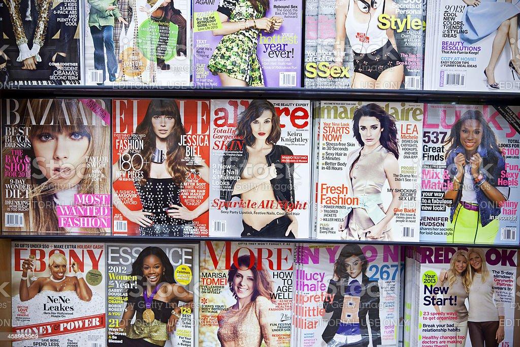 Stack of magazines # 6 XXXL stock photo
