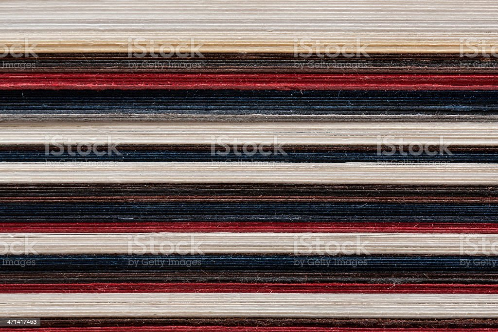 Stack of paper textured background royalty-free stock photo