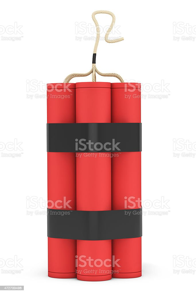 Stack of Red Dynamite stock photo