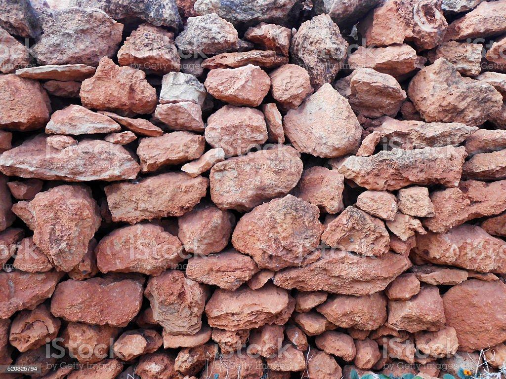 Stack of rocks stock photo