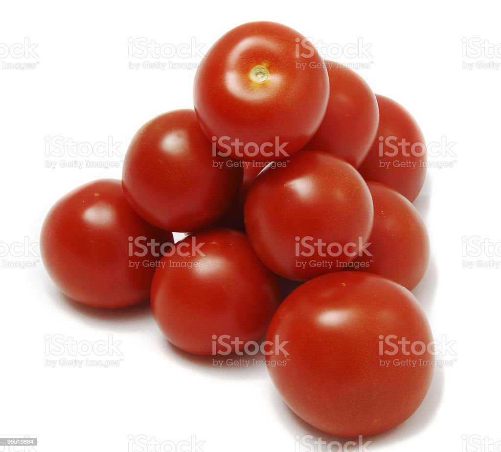 Stack of Tomatoes royalty-free stock photo