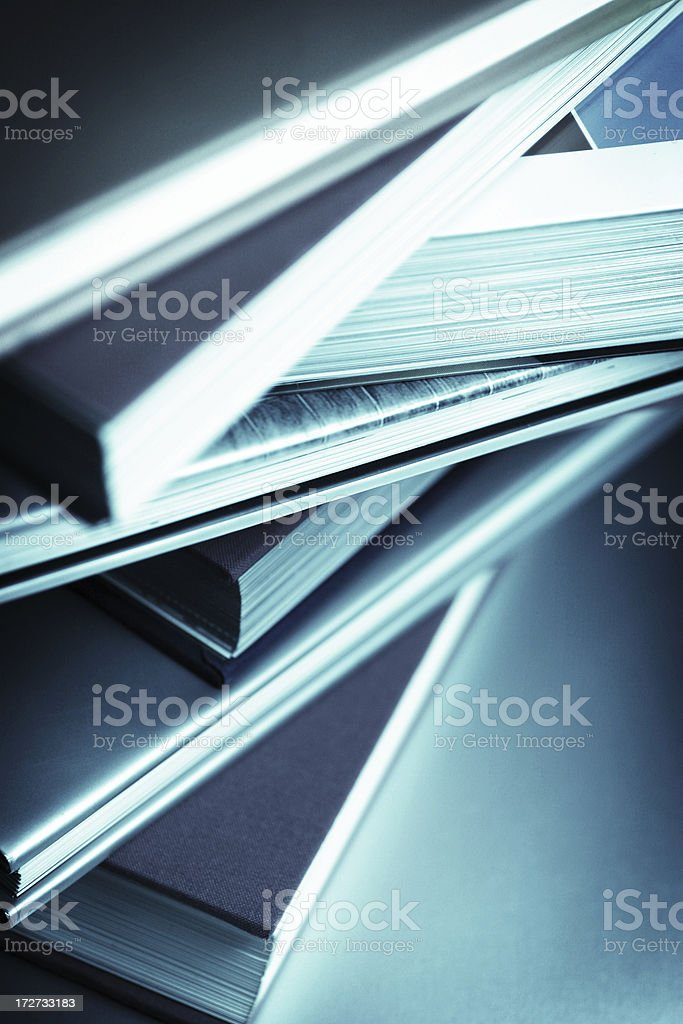 Stack of Wisdom royalty-free stock photo
