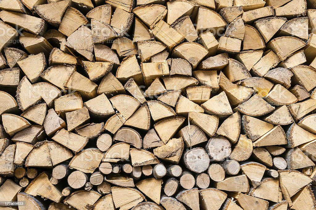 Stack of wood background royalty-free stock photo