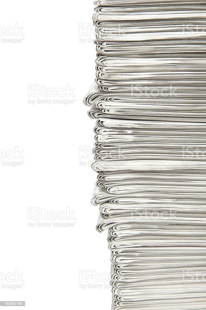 Stack... royalty-free stock photo
