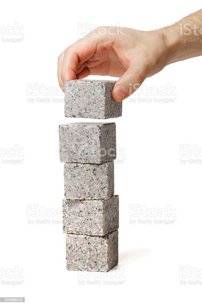 Stack stock photo