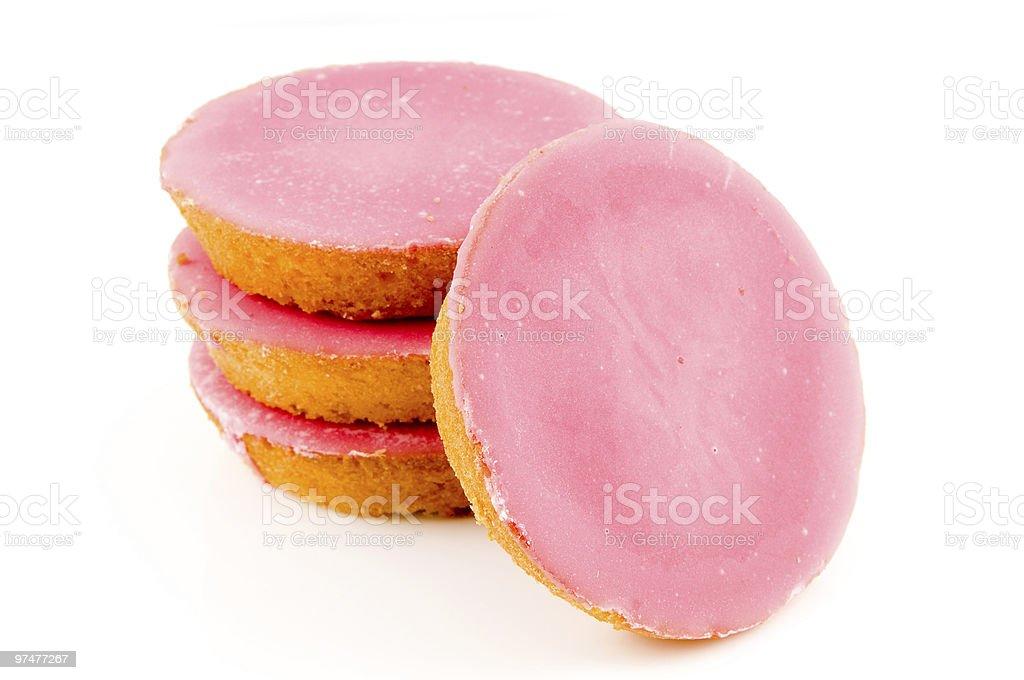 Pile de gâteaux rose photo libre de droits