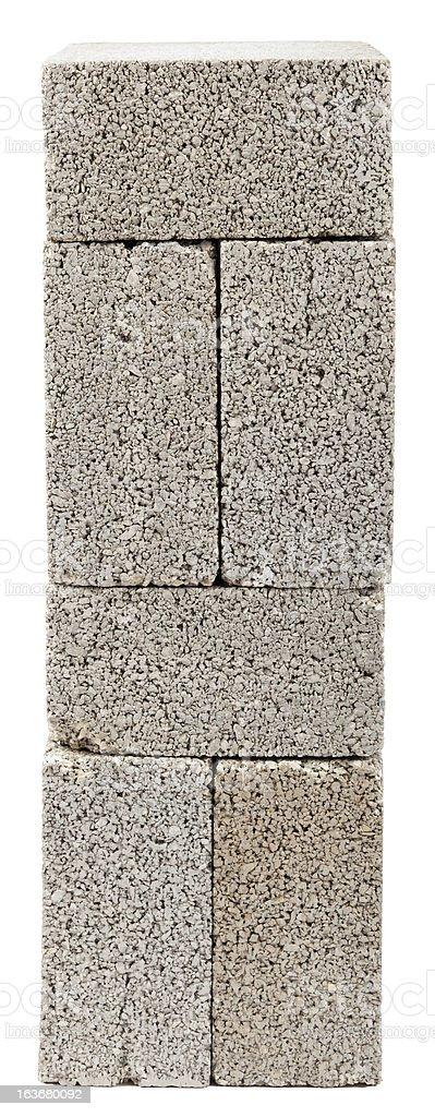 Stacked Construction Blocks stock photo