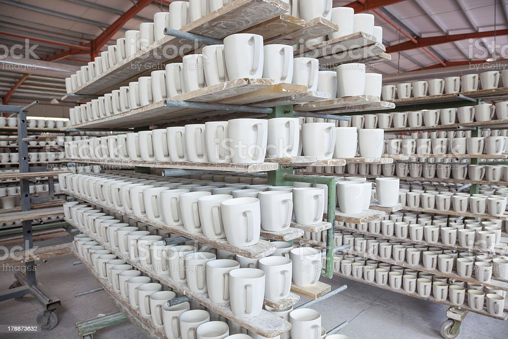 stacked cup royalty-free stock photo