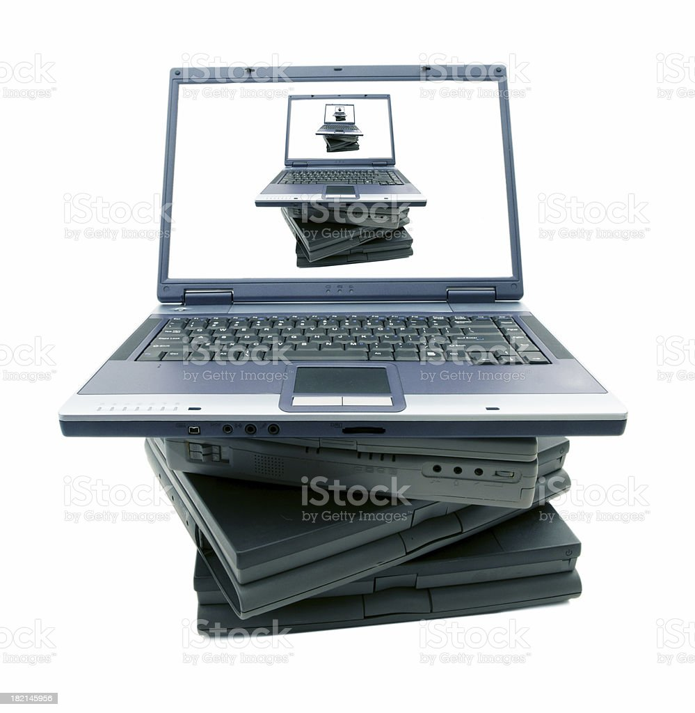 Stacked royalty-free stock photo