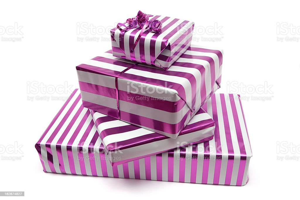 Stacked Presents royalty-free stock photo