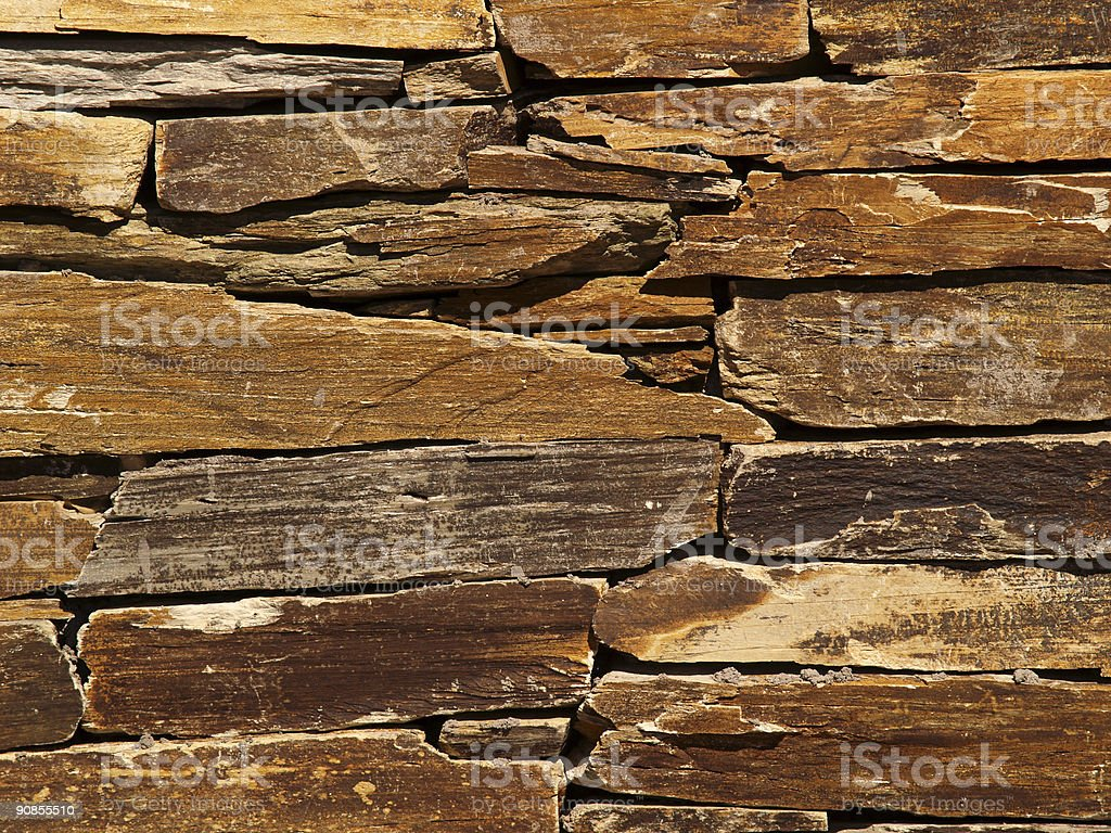 Stacked Rock 1 (series) (grunge texture) stock photo