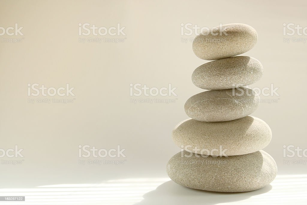 Stacked Rocks royalty-free stock photo