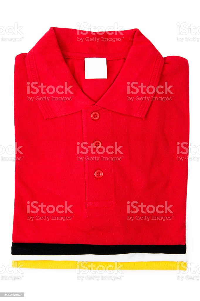 Stacked Shirts stock photo