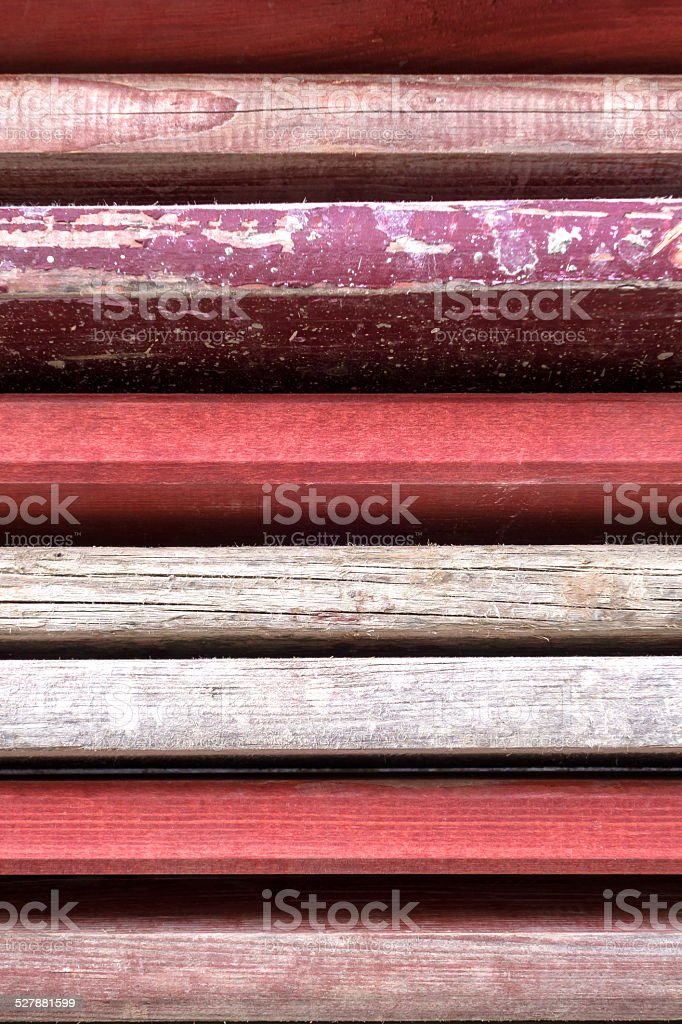 Stacked shuttering boards royalty-free stock photo