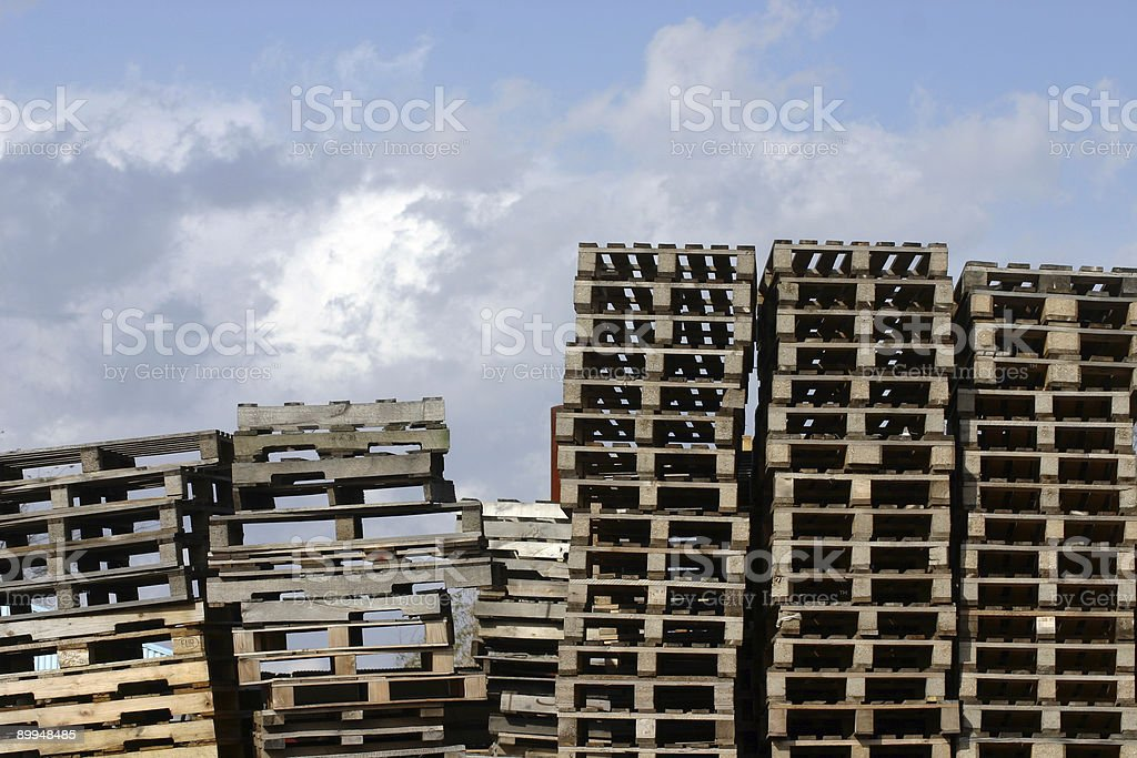 Stacked To The Sky royalty-free stock photo
