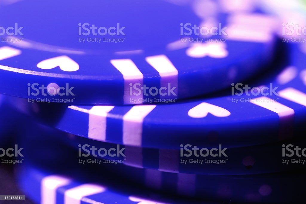 Stack-o-Blue stock photo