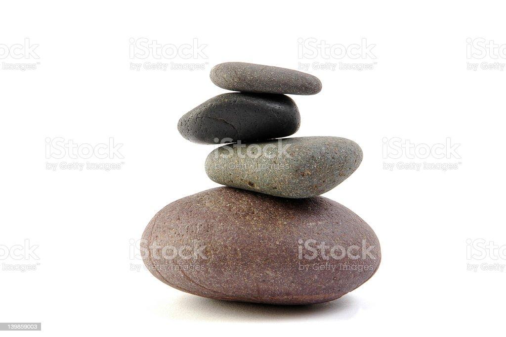 Stacky Rocks royalty-free stock photo