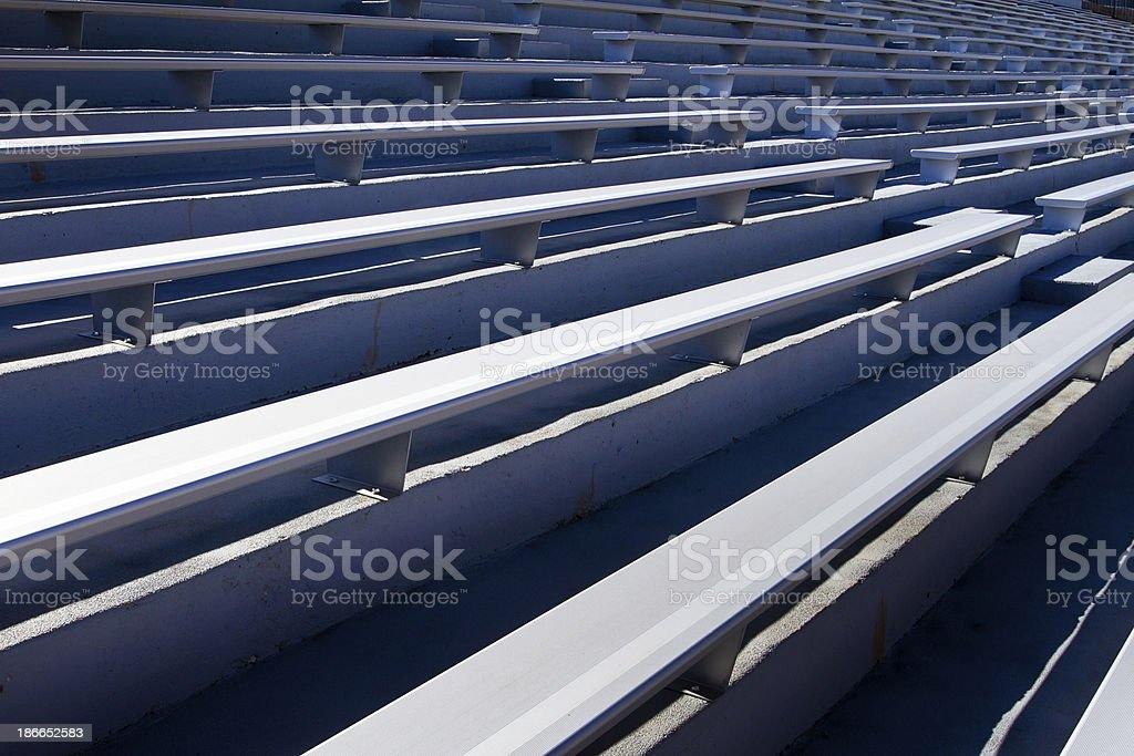 Stadium Bleachers royalty-free stock photo