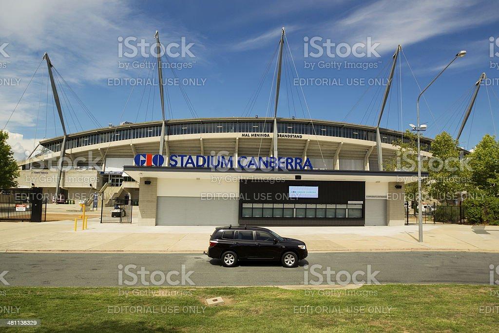 GIO Stadium Canberra stock photo
