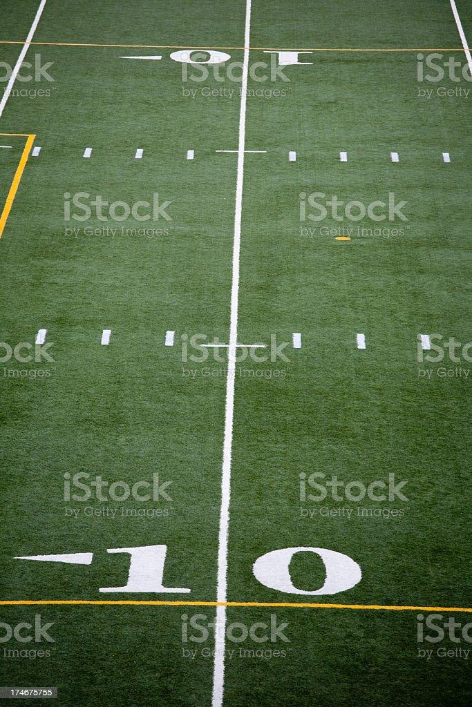 Stadium football field royalty-free stock photo