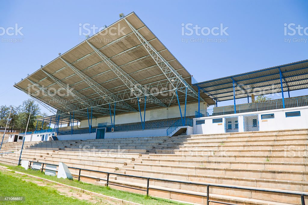 Stadium Grandstand royalty-free stock photo