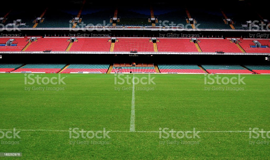 Stadium, Ground Level royalty-free stock photo