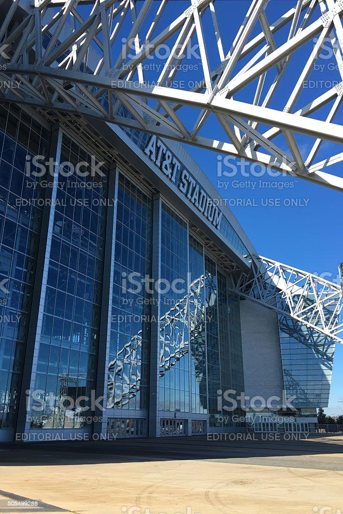 AT&T Stadium in Arlington, Texas, home to the Dallas Cowboys stock photo