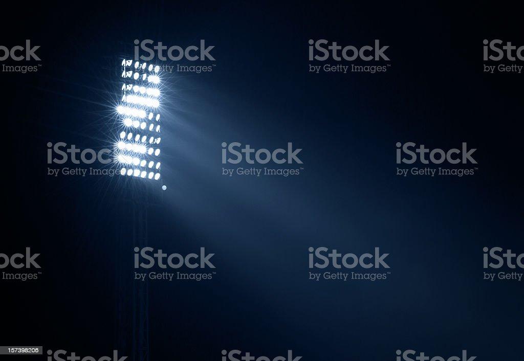 stadium light stock photo