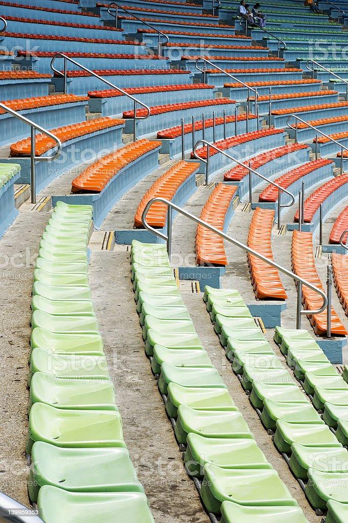 stadium royalty-free stock photo