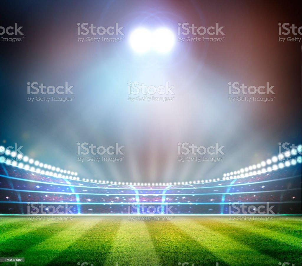 Stadium, stock photo