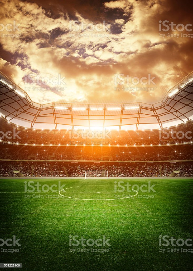 Stadium stock photo