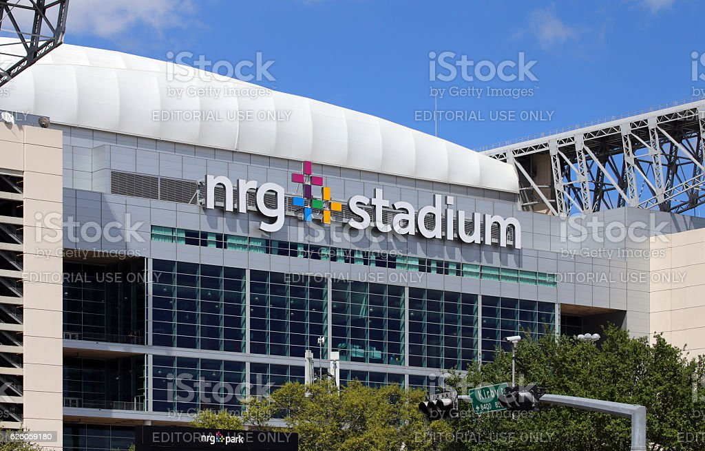 NRG Stadium stock photo