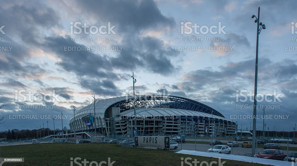 INEA Stadium stock photo