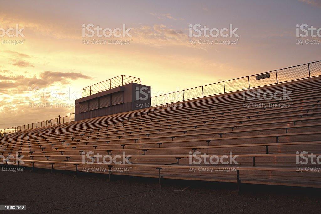Stadium seat royalty-free stock photo