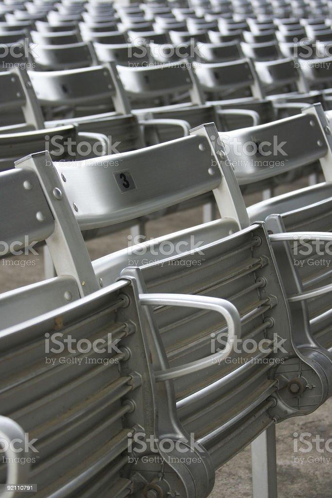 Stadium Seats 03 stock photo