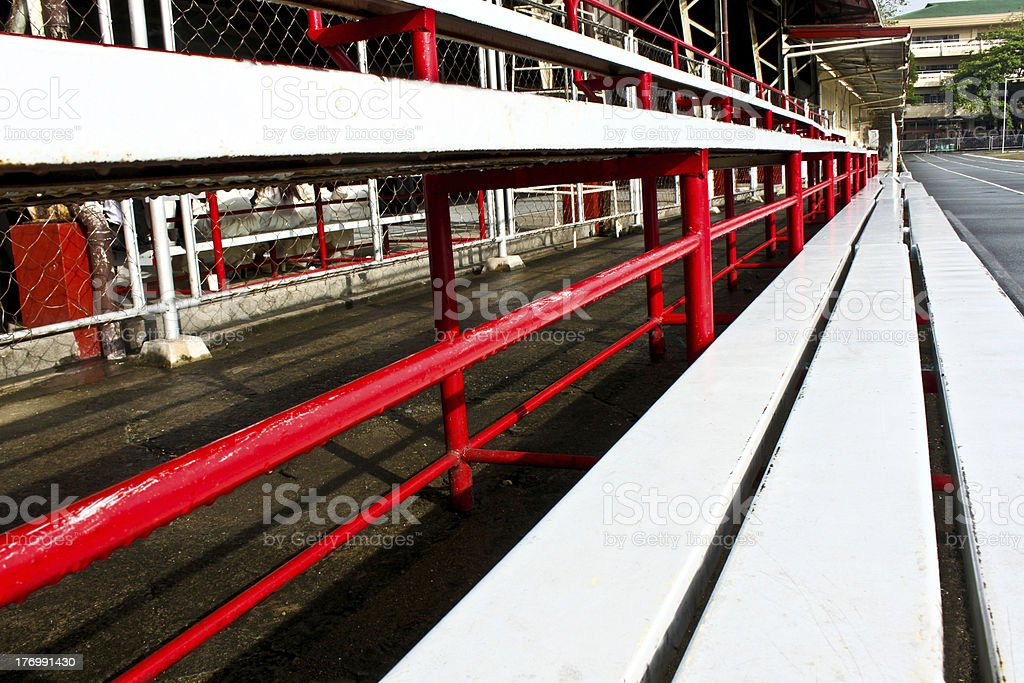 Stadium Steel Sets stock photo