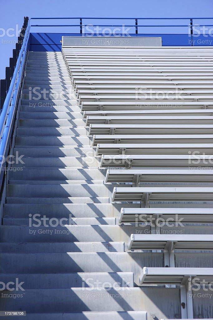 Stadium Steps royalty-free stock photo