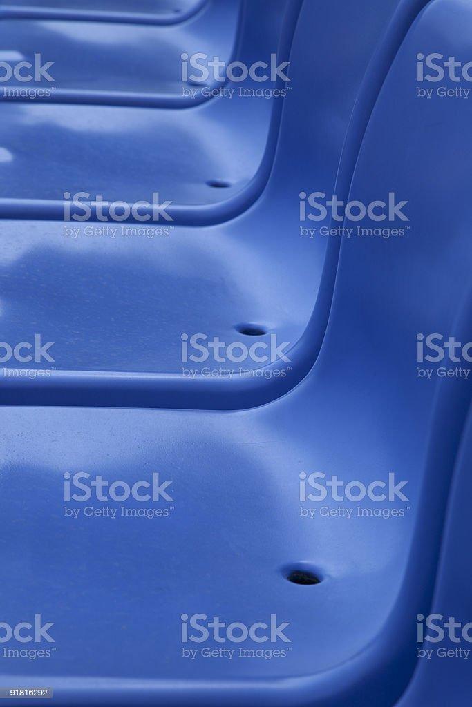 stadium tribune seats stock photo