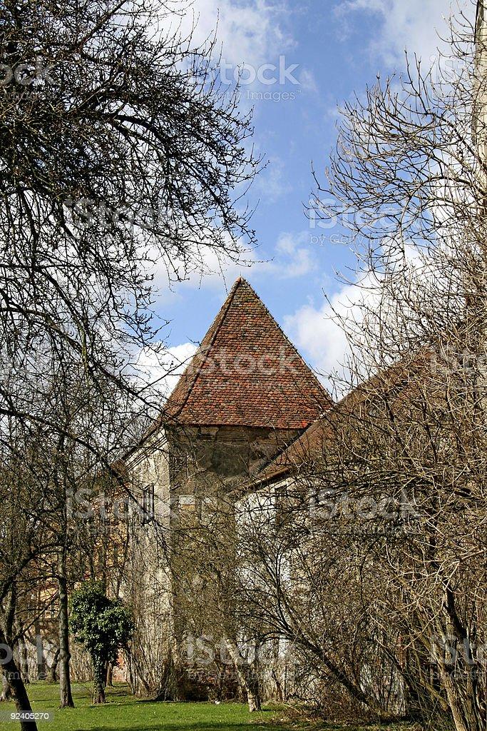 Stadtmauer, Ingolstadt royalty-free stock photo